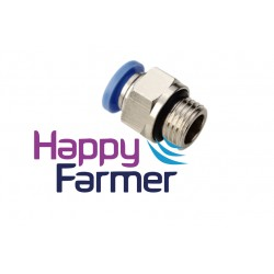 """Pneumatic connector 3/8 """"x 12 Water Pump Discovery"""