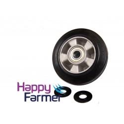 Wheel black separate Lely Juno 100
