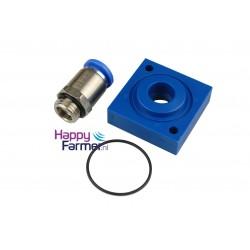Magnet valve base plate 12mm Förster