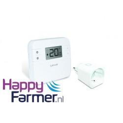Thermostaat infrarood verwarming melkstal