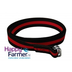 Collar black-red
